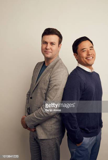 Taran Killam of ABC's 'Single Parents' and Randall Park of ABC's 'Fresh Off the Boat' pose for a portrait during the 2018 Summer Television Critics...
