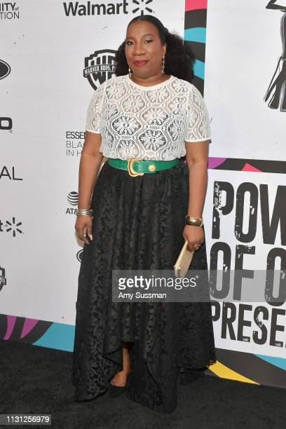 Tarana Burke attends 2019 Essence Black Women In Hollywood Awards at the Beverly Wilshire Four Seasons Hotel on February 21 2019 in Beverly Hills...