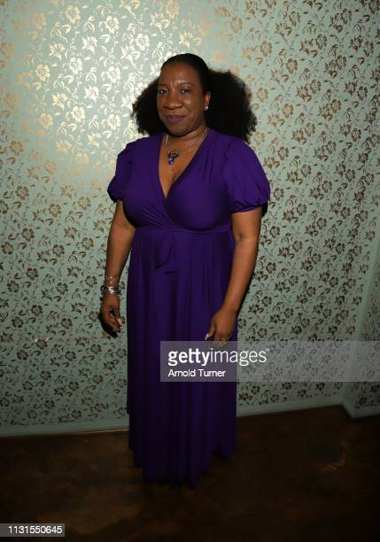 Tarana Burke attends Common's 5th Annual Toast to the Arts at Ysabel on February 22 2019 in West Hollywood California