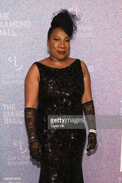 Tarana Burke attends the 2018 Diamond Ball at Cipriani Wall Street on September 13 2018 in New York City