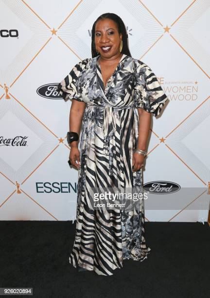 Tarana Burke attends the 2018 Essence Black Women In Hollywood Oscars Luncheon at Regent Beverly Wilshire Hotel on March 1 2018 in Beverly Hills...