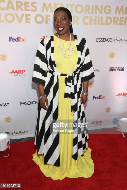 Tarana Burke Honoree and activist founder of the 'Me Too' movement attends the National CARES Mentoring Movement's third annual For The Love Of Our...