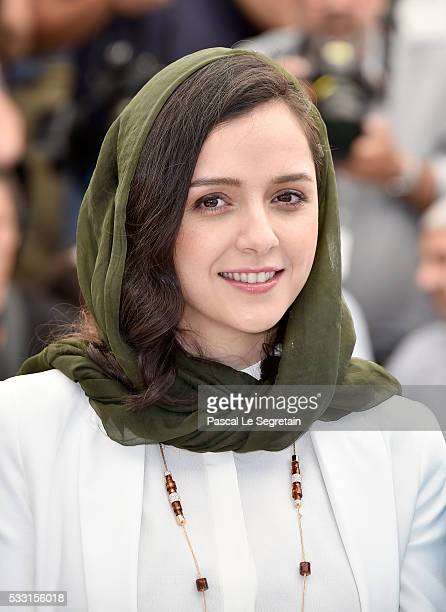 Taraneh Alidoosti attends The Salesman Photocall during the 69th annual Cannes Film Festival at the Palais des Festivals on May 21 2016 in Cannes...