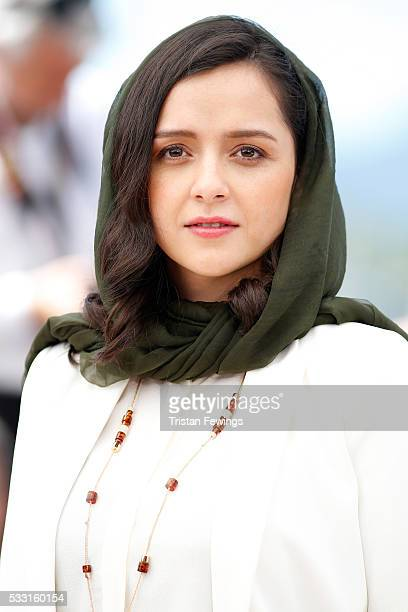 Taraneh Alidoosti attends 'The Salesman ' Photocall during the 69th annual Cannes Film Festival at the Palais des Festivals on May 21 2016 in Cannes...