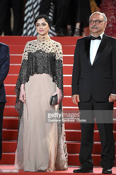 Taraneh Alidoosti attends The Salesman Premiere during the 69th annual Cannes Film Festival at the Palais des Festivals on May 21 2016 in Cannes...