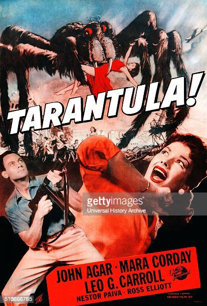 Tarantula is a 1955 science fiction film directed by Jack Arnold and starring John Agar Mara Corday and Leo G Carroll The screenplay by Robert M...