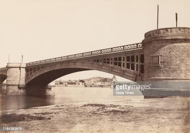 Tarascon Viaduc before 1859 Albumen silver print from paper negative Image 374 x 532 cm Photographs ƒdouard Baldus