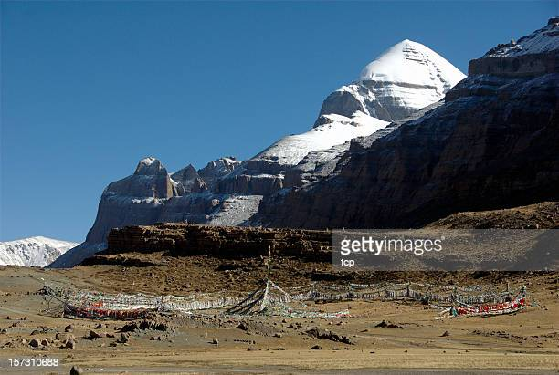 Tarboche of Mount Kailash (Gang Rinpoche, Tibet)
