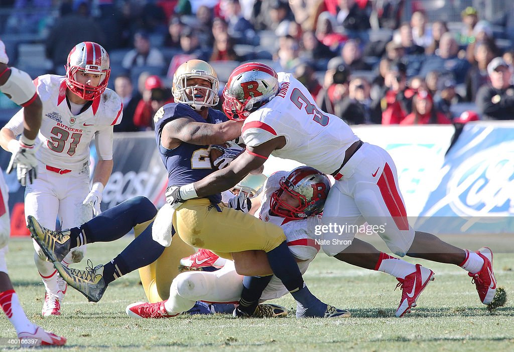 New Era Pinstripe Bowl - Rutgers v Notre Dame : News Photo