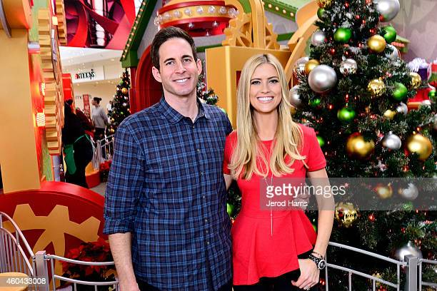 Tarek and Christina El Moussa, hosts of HGTV's hit show Flip or Flop, visited the HGTV Santa HQ at Lakewood Center. The reality stars visited with...