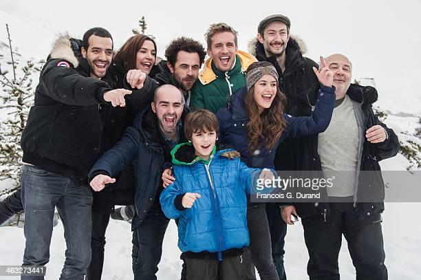 Tarek Boudali Charlotte Gabris French producer Nicolas Benamou French actors Julien Arruti Philippe Lacheau Alice David Vincent Desagna Gerard Jugnot...