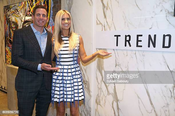 Tarek El Moussa and Christina El Moussa attend Tarek and Christina, TV's Favorite House Flippers, Featured at TREND/Stone Source Event in New York on...