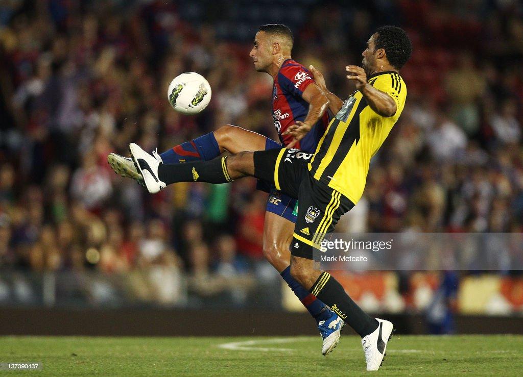 A-League Rd 16 - Newcastle v Wellington