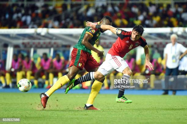 Tarek Hamed Elsaid Hamed of Egypt during the African Nations Cup Final match between Cameroon and Egypt at Stade de L'Amitie on February 5 2017 in...