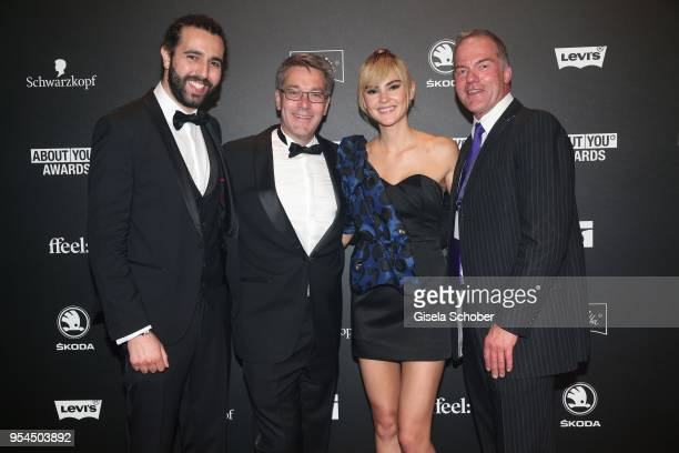 Tarek Mueller CoFounder and CoCEO ABOUT YOU Alexander Birken CEO Otto Group and Stefanie Giesinger and Dr Rainer Hillebrand Board of Management...