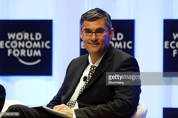 Tarek Sultan chairman of Agility attends the World Economic Forum on East Asia in Naypyidaw Myanmar on Thursday June 6 2013 Unilever and Coca Cola Co...