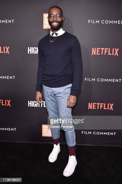 Tarell Alvin McCraney attends the Netflix High Flying Bird Film Comment Select Special Screening at Walter Reade Theater on February 07 2019 in New...