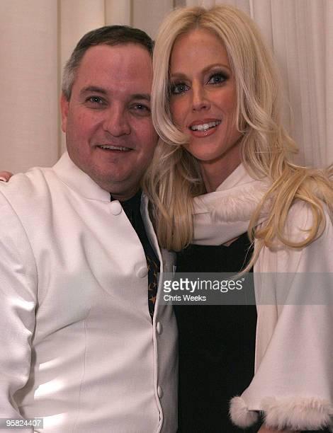 Tareq Salahi and Michaele Salahi the White House party crashers attend Pure Nightclub on January 16 2010 in Las Vegas Nevada