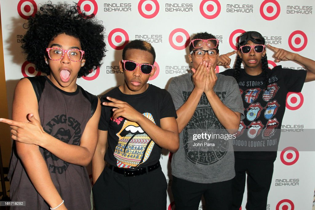 "Target And Mindless Behavior Celebrate Target Exclusive Deluxe Edition Of ""All Around The World."""