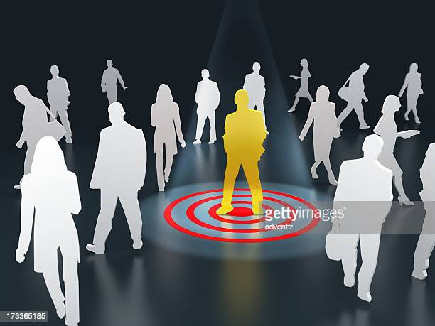 target audience - sports target stock pictures, royalty-free photos & images