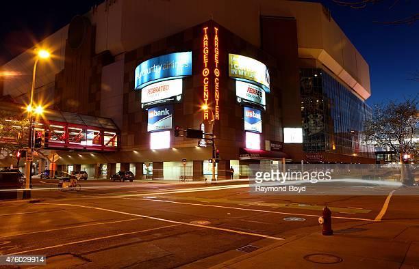 Target Center home of the Minnesota Timberwolves basketball team and Minnesota Lynx WNBA basketball team on May 21 2015 in Minneapolis Minnesota