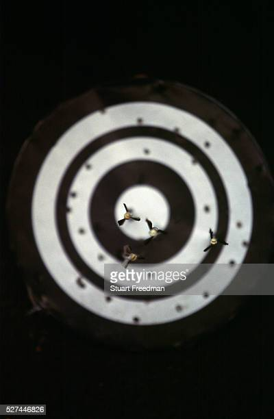 A target full of arrows at a Kyudo dojo Kyudo is a modern Japanese martial art derived from ancient Samurai archery and heavily influenced by Zen...