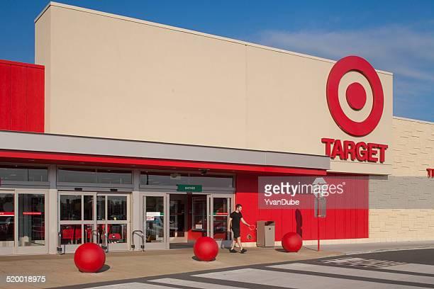 target Eingang mit Kunden sich in