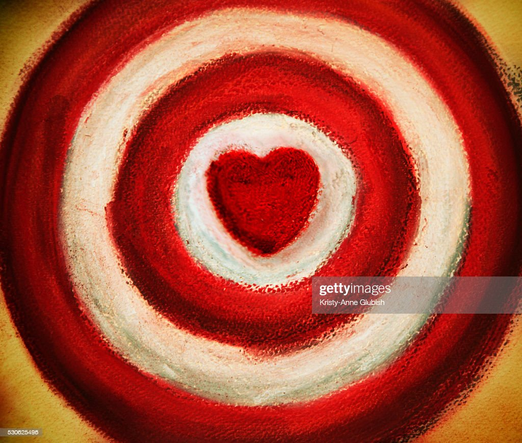 Target with heart bullseye stock photo getty images target with heart bullseye stock photo altavistaventures Images
