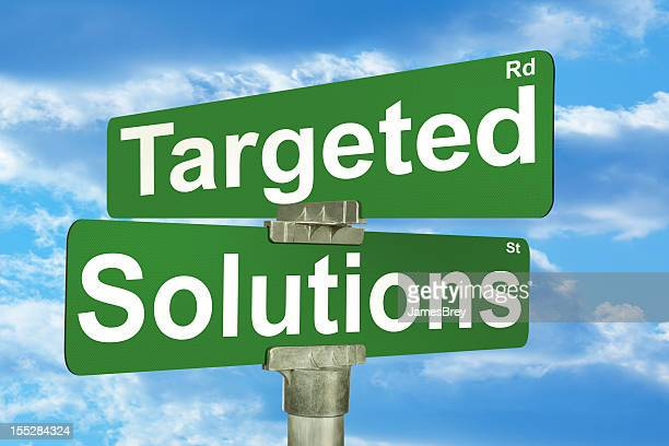 Targeted Solutions Street Intersection Sign