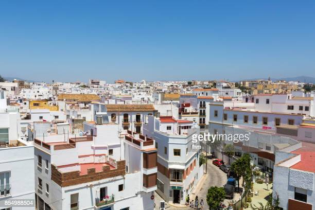 tarifa old town (cadiz province/ andalusia/ spain) - tarifa stock photos and pictures