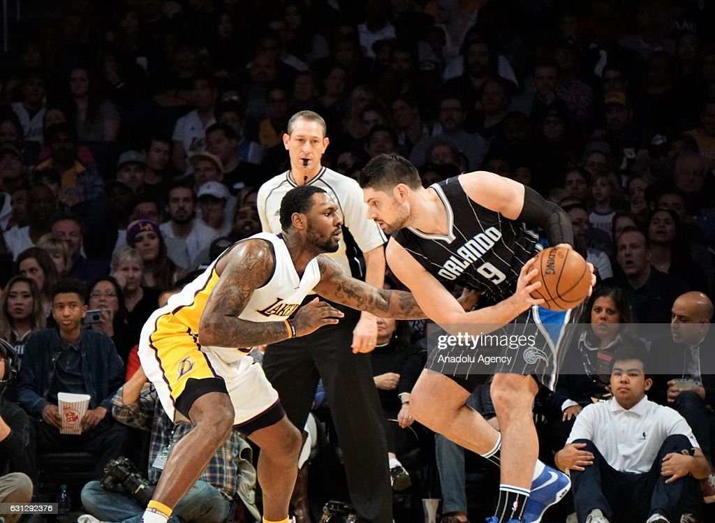 Los Angeles Lakers vs Orlando Magic : News Photo