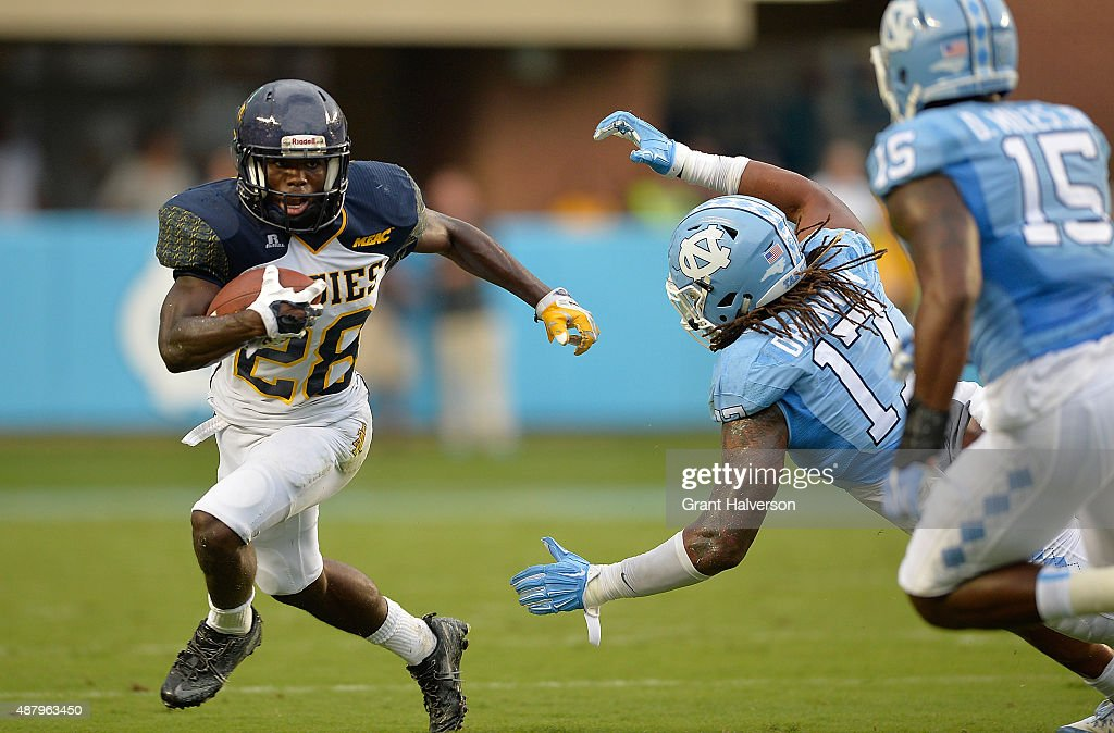 North Carolina A&T v North Carolina : News Photo