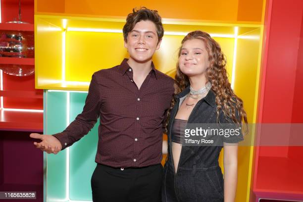 Tarik Ellinger and Cloe Wilder attend Cloe Wilder's i don't wanna Music Video Premiere Party on August 01 2019 in Los Angeles California