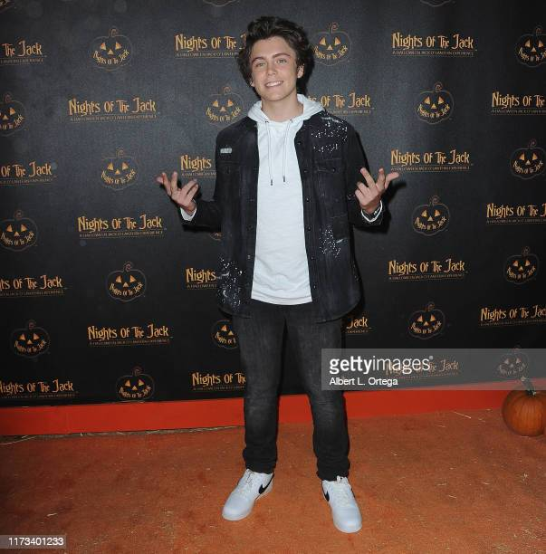 Tarik Ellinger arrives for Nights Of The Jack Friends Family VIP Preview Night held at King Gillette Ranch on October 2 2019 in Calabasas California