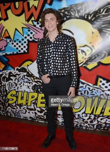 Tarik Ellinger attends Jaheem King Toombs' 18th Birthday held at The Globe Theater on November 17 2019 in Los Angeles California