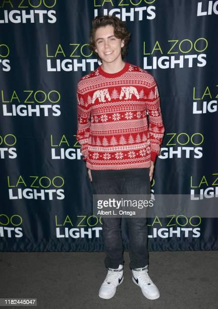 Tarik Ellinger attends the LA Zoo Lights VIP Night held at Los Angeles Zoo on November 14 2019 in Los Angeles California