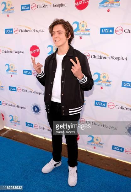 Tarik Ellinger attends UCLA Mattel Children's Hospital's 20th Annual Party on the Pier at Pacific Park – Santa Monica Pier on November 03 2019 in...