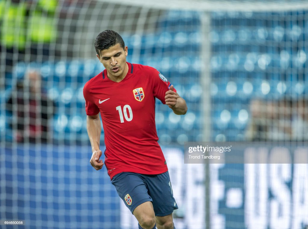 Tarik Elyounoussi Of Norway During The FIFA 2018 World Cup
