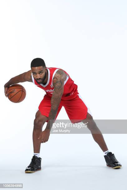 Tarik Phillip of the Memphis Hustle poses for a portrait during the NBA GLeague media day on November 1 2018 at FedExForum in Memphis Tennessee NOTE...