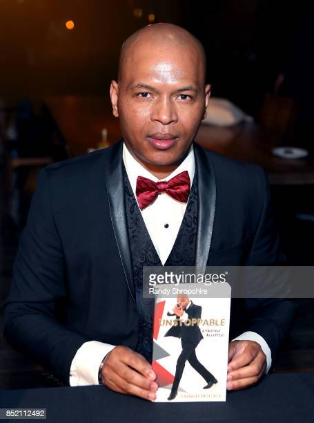 Tariku Bogale attends his book launch of 'Unstoppable' on September 22 2017 in West Hollywood California