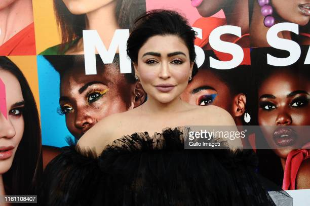 Tarina Patel during the Miss South Africa 2019 beauty pageant grand finale at the Time Square Sun Arena on August 09 2019 in Pretoria South Africa...