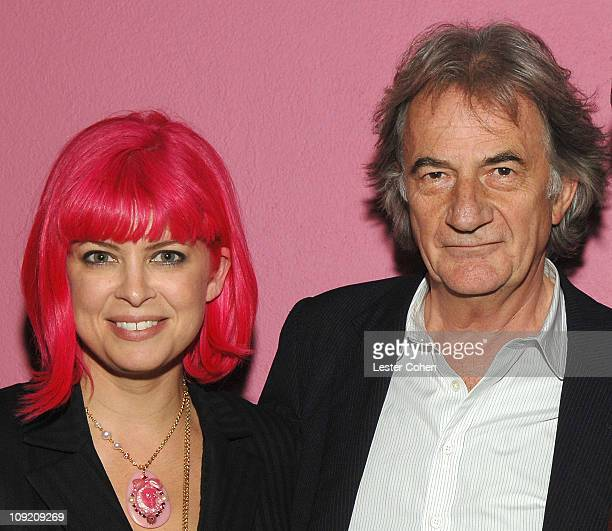 """Tarina Tarantino and Paul Smith at the Screening of """"Withnail and I"""" at the Paul Smith Boutique on October 16, 2007."""