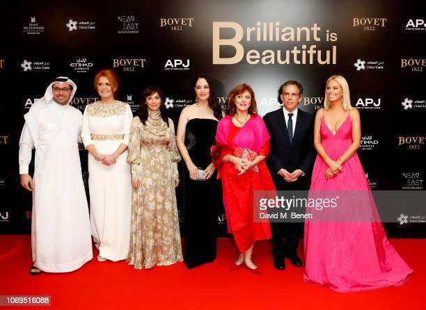 Tariq Al GurgSarah Ferguson Duchess of York Natalie Imbruglia Madeleine Stowe Susan Sarandon Ben Stiller and Caroline Stanbury attend the Artists for...