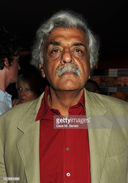 Tariq Ali attends the UK Premiere of 'South Of The Border' at The Curzon Mayfair on July 19 2010 in London England