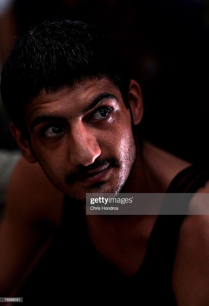 Tariq Dalaf Obeidi, 24, from Abu Ghraib neighborhood of Baghdad is seen at an Iraqi detention center July 19, 2007 in Baghdad, Iraq. The Iraqi detention facility at Forward Operating Base Justice in west Baghdad holds nearly a thousand men in an area designed for 300, from insurgents who have killed dozens to some who were likely simply swept up in raids and were in the wrong place at the wrong time.