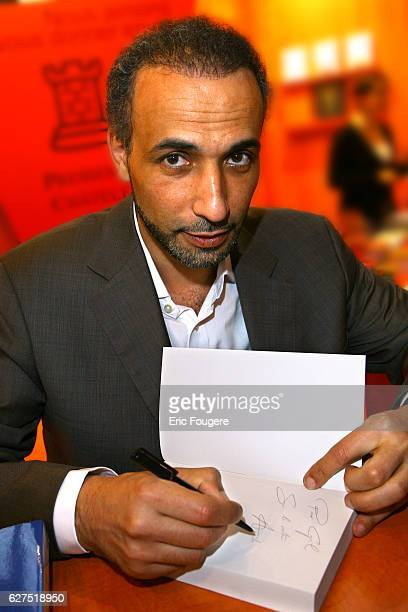 Tariq Ramadan at the 2007 'Salon du Livre'