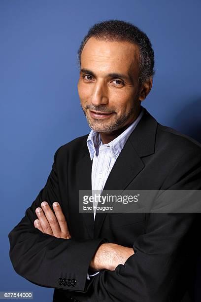 Tariq Ramadan on the set of TV show 'Vous Aurez le Dernier Mot'