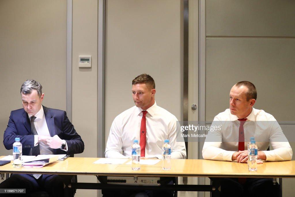 NRL Judiciary Hearing : News Photo