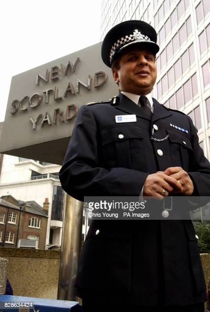 Tarique Ghaffur the Metropolitan Police Deputy Commissioner stands outside New Scotland Yard 10/03/04 A draft from a Metropolitan Police report...