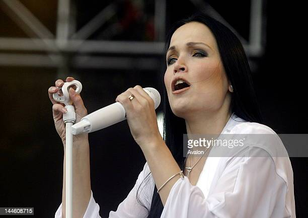 Tarja Turunen vocalist from Nightwish performing live at the main stage at Download festival, Downington Park on June 11,2005; ; Job : 12594
